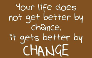 Time to Make a Change Towards Your Future